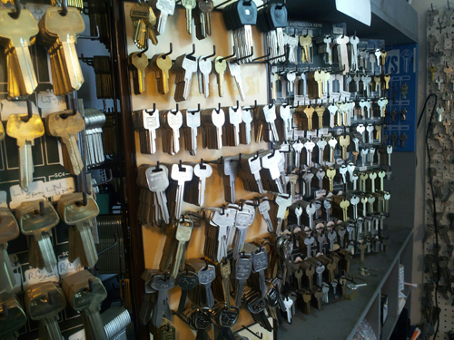 Huge Selection of Keys