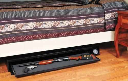 Under-the-bed Gun Safe